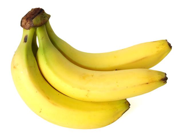 Banane, drei Bananen