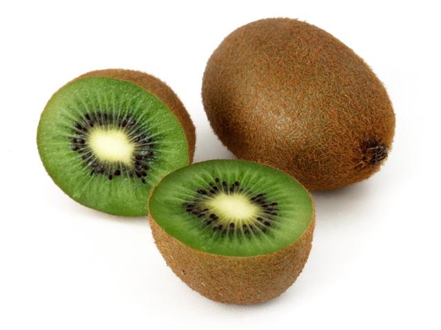 kiwi 2 obst grün