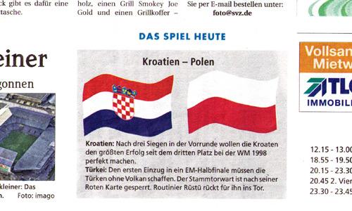 polen gegen kroatien