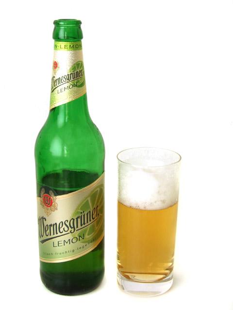 Wernesgrüner Lemon Glas