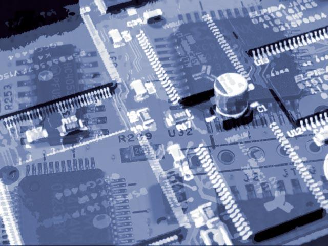 Elektronik abstrakt