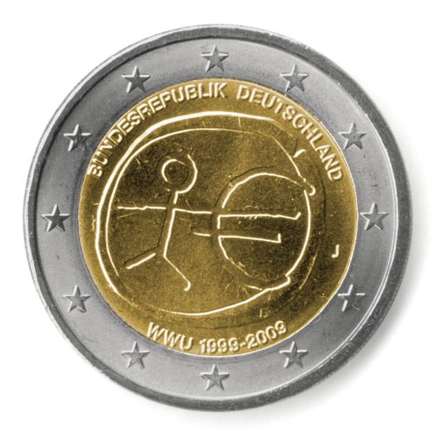 münzen euro 2