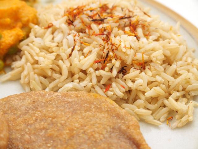 Reis, indisch