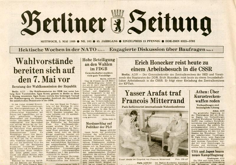 heute vor 20 jahren 3 mai 1989 putzlowitscher zeitung. Black Bedroom Furniture Sets. Home Design Ideas