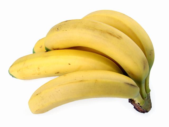 Bananen stehend