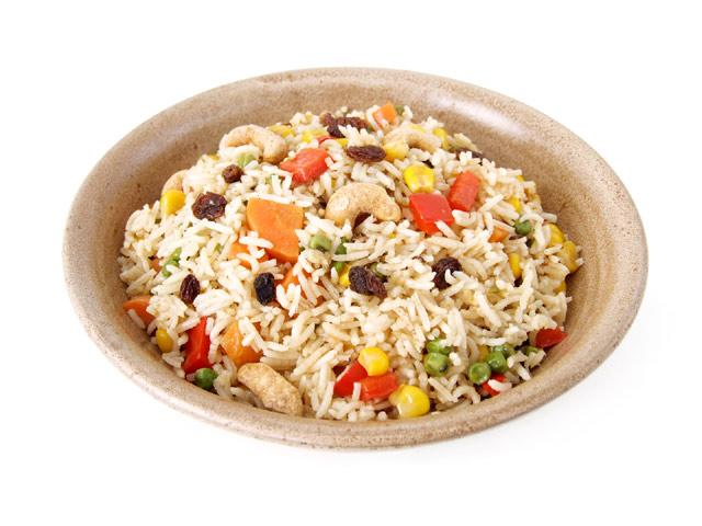 Indischer Gemüsereis