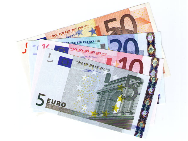euro scheine geld