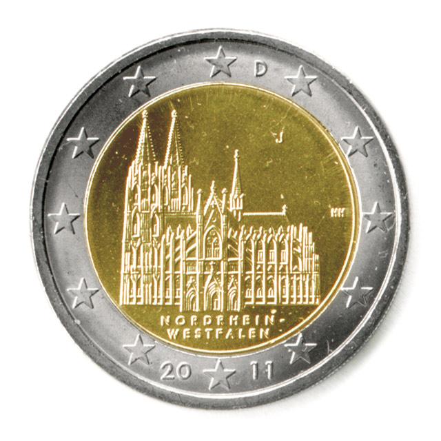 2 euro geld münzen