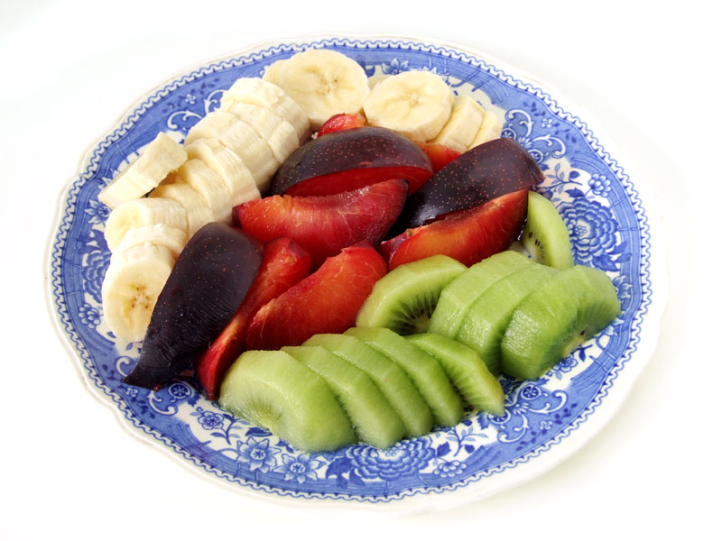 pflaume bananen kiwi