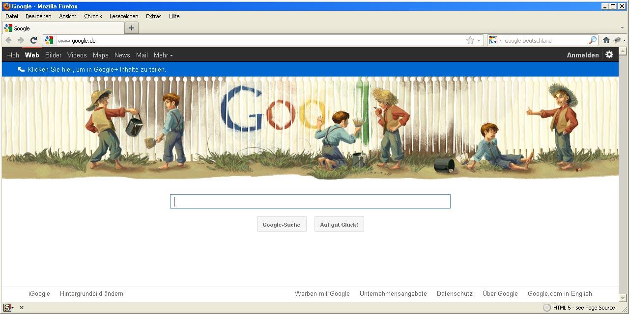 google-doodle mark twain