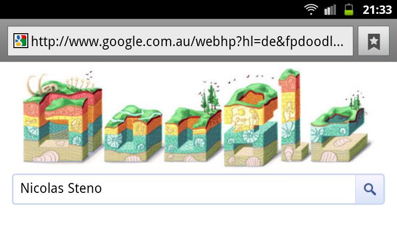 google-doodle nicolas steno