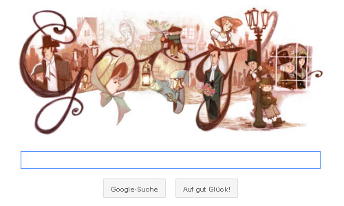 google-doodle charles dickens