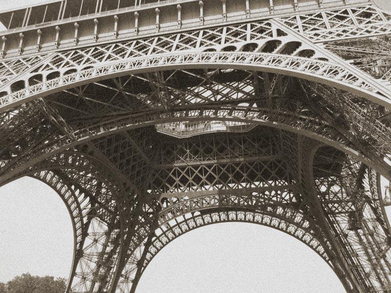 Robert Doisneau - Eiffelturm Paris