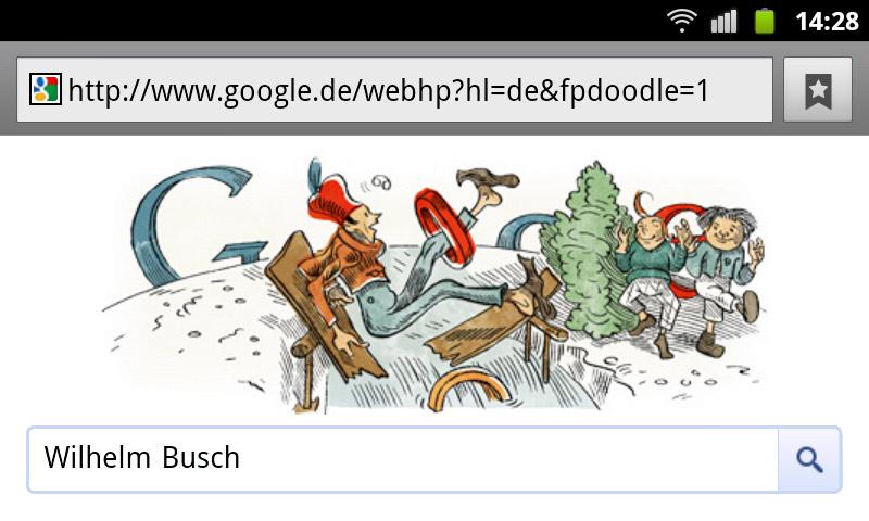 google-doodle wilhelm busch