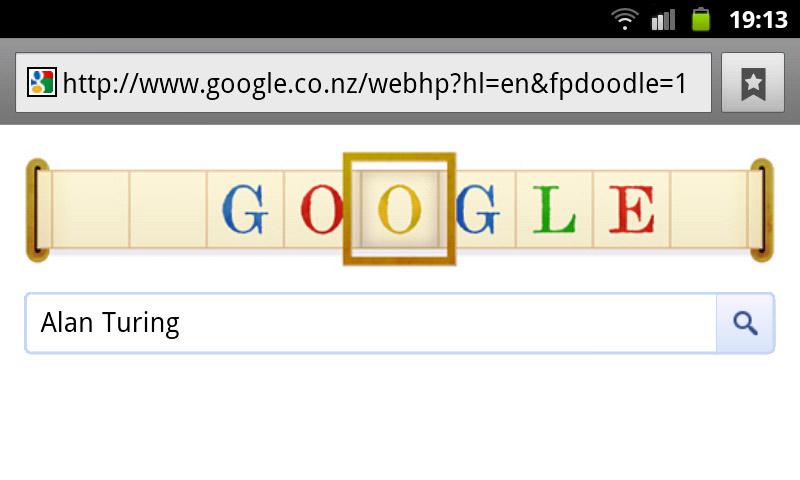 google-doodle alan turing