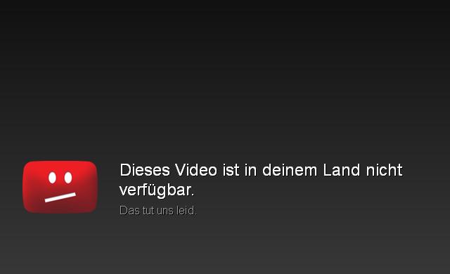 Dieses Video Ist In Deinem Land Nicht Verfügbar