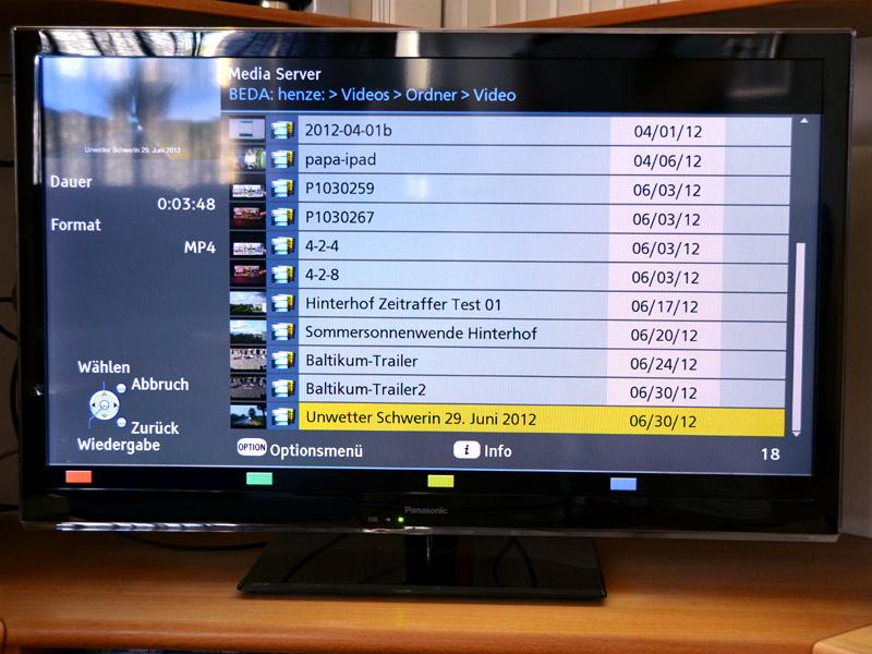 Kein Kabelsalat Mehr Hinterm Fernseher : das lokale Heimnetz bietet da ...