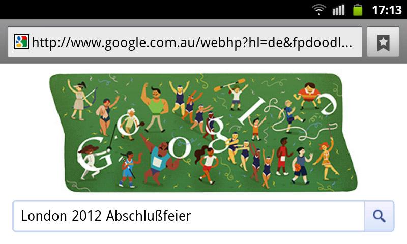 google-doodle london 2012 abschlußfeier olympia