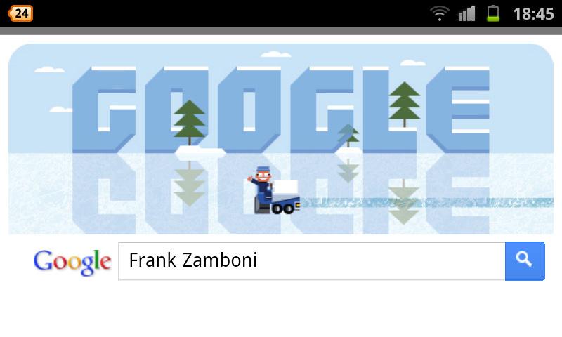 Frank Zambanoni Google Doodle