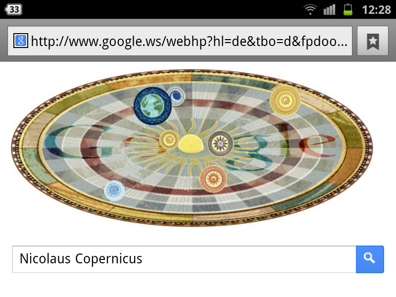 google-doodle nikolaus kopernikus