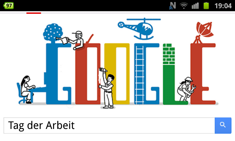 google-doodle tag arbeit 2013