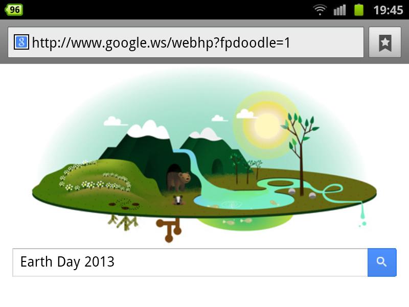 google-doodle tag erde 2013