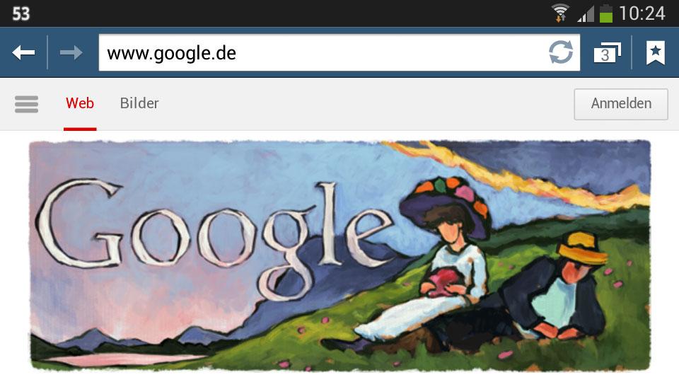 Gabriele Münter (Google-Doodle)