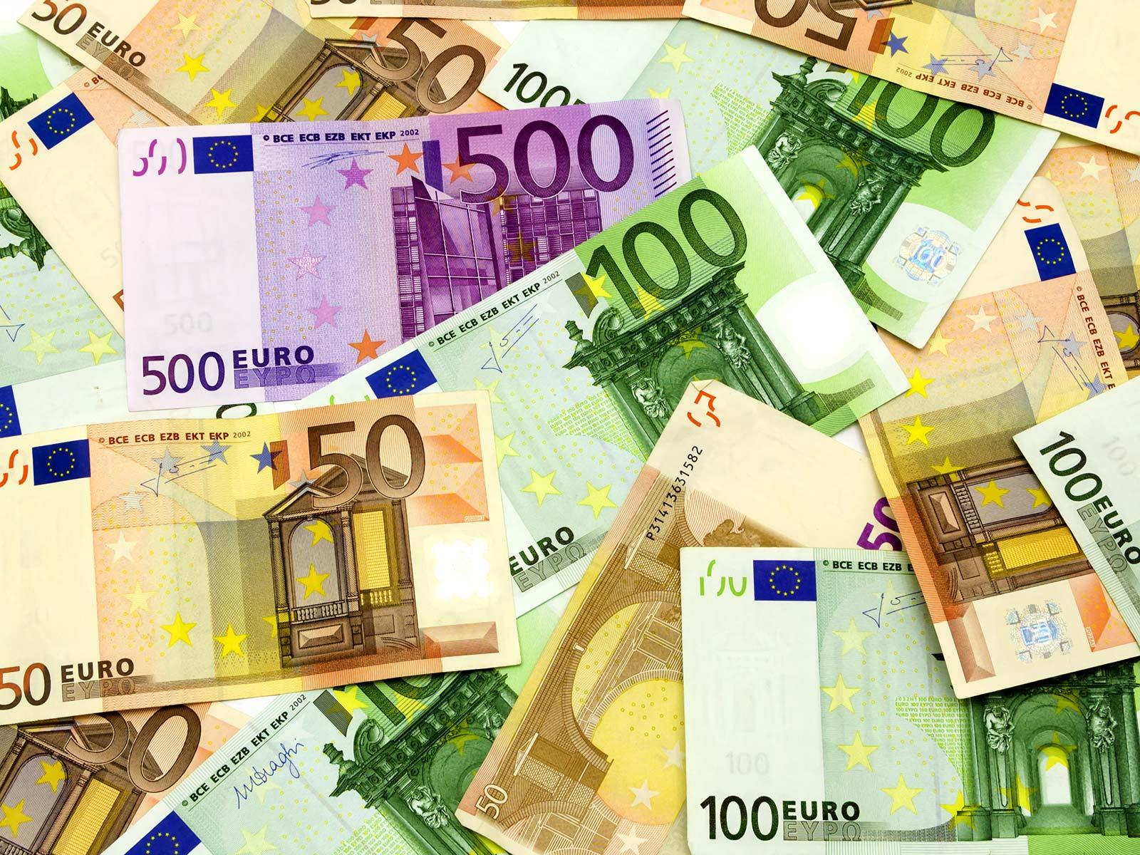 Scheine Euro
