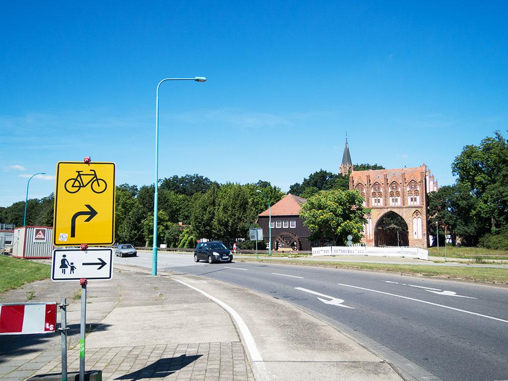 Neubrandenburg – Stargarder Tor und Lohmühle