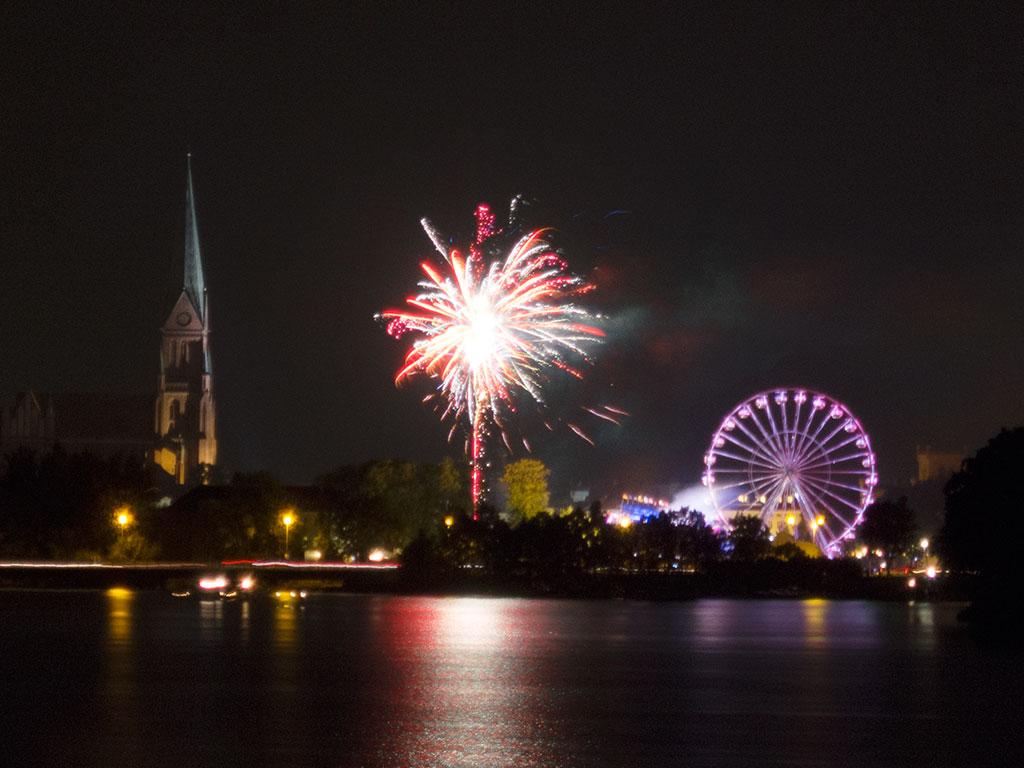 Feuerwerk Schwerin