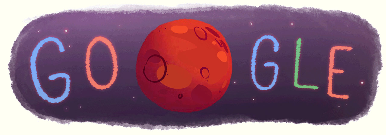 Mars Google-Doodle