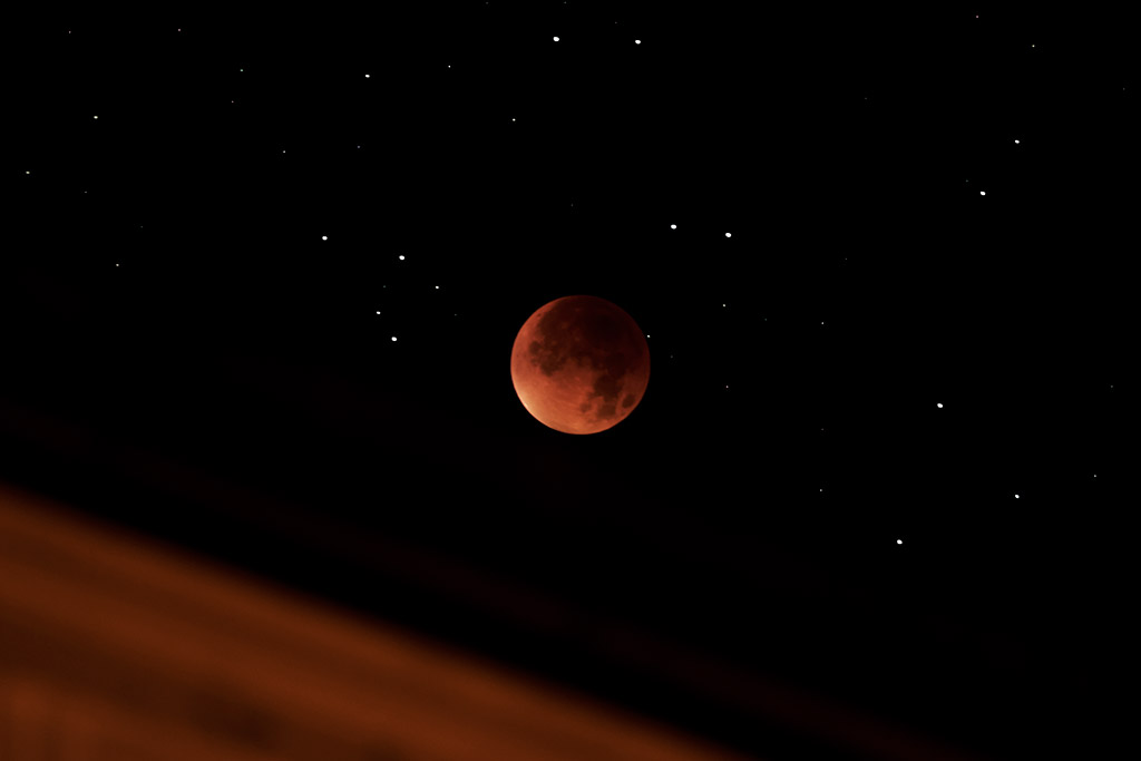 Mondfinsternis September 2015 – Blutmond