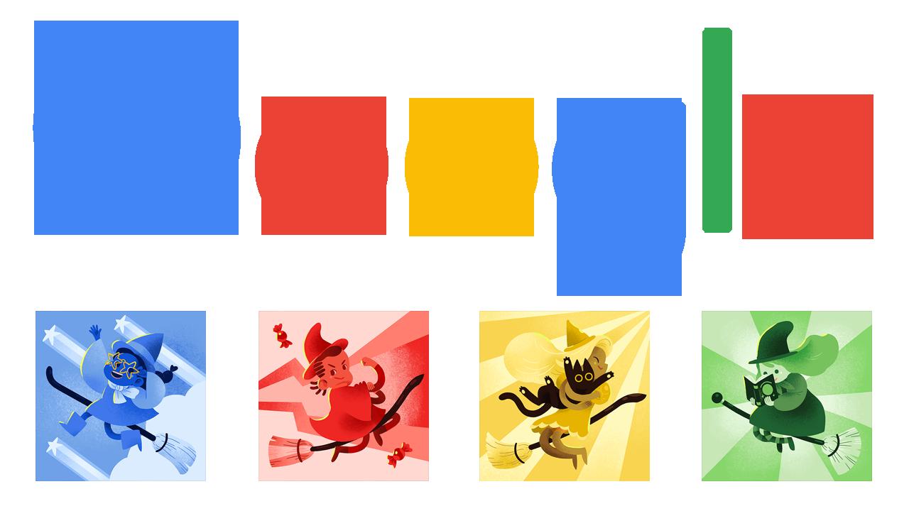 Halloween 2015 Google Doodle