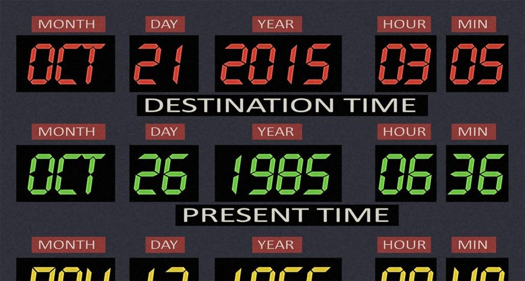 Zurück in die Zukunft: Zeitreise zum 21. Oktober 2015