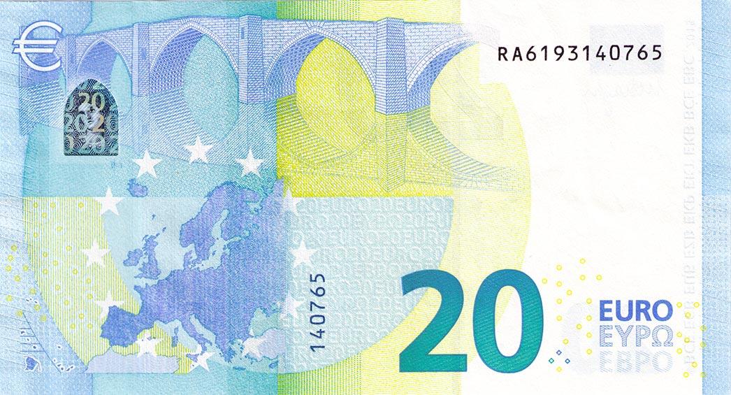 20 euro schein alt neu