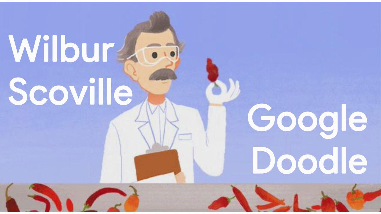 Wilbur Scoville Google-Doodle