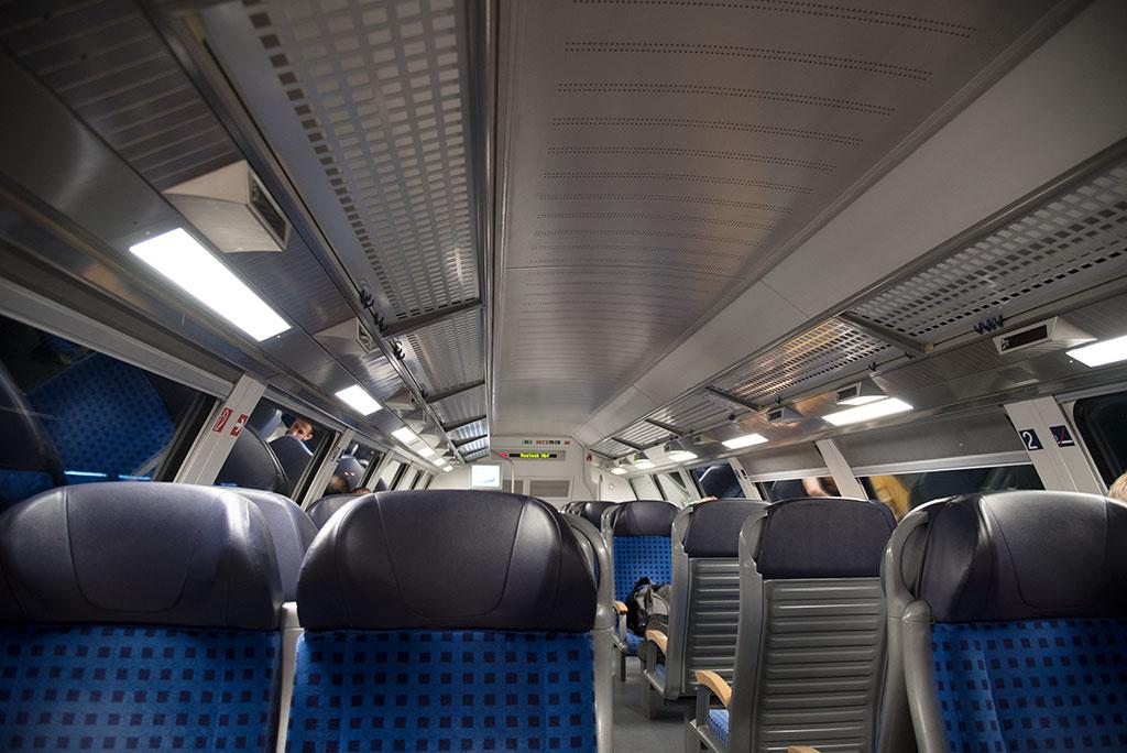 Fahrt von Hamburg nach Schwerin mit Regionalexpress