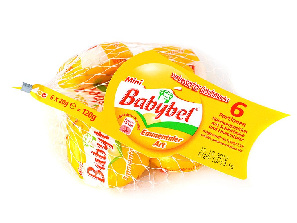 """Babybel """"Emmentaler Art"""" im Netz"""