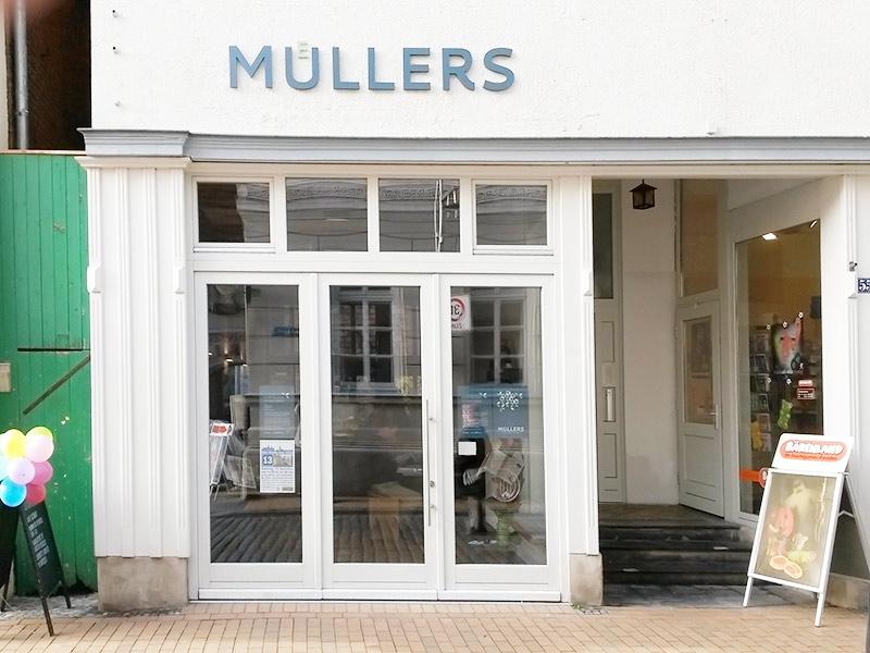 MÜLLERS Cafe-Bistro-Kneipe in Schwerin