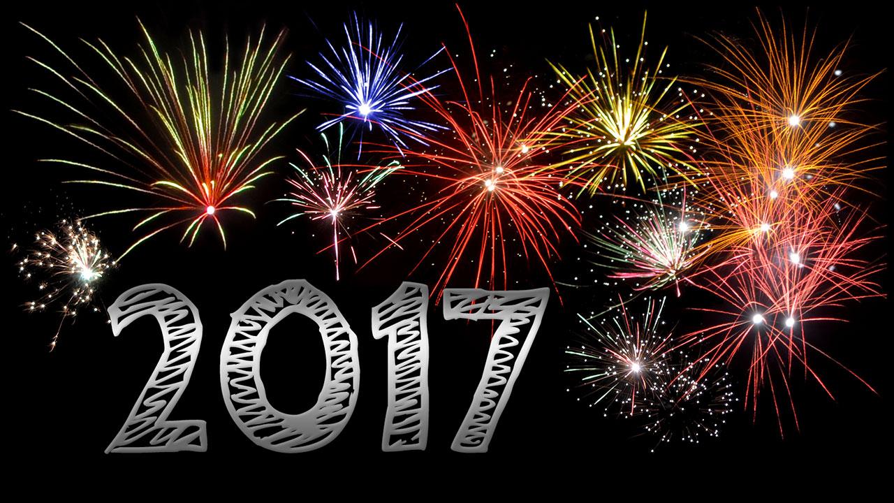 Frohes neues Jahr 2017 - Neujahr 2017