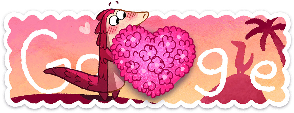 Was ist ein Schuppentier? - Valentinstag 2017 (Der Blumenstrauß)