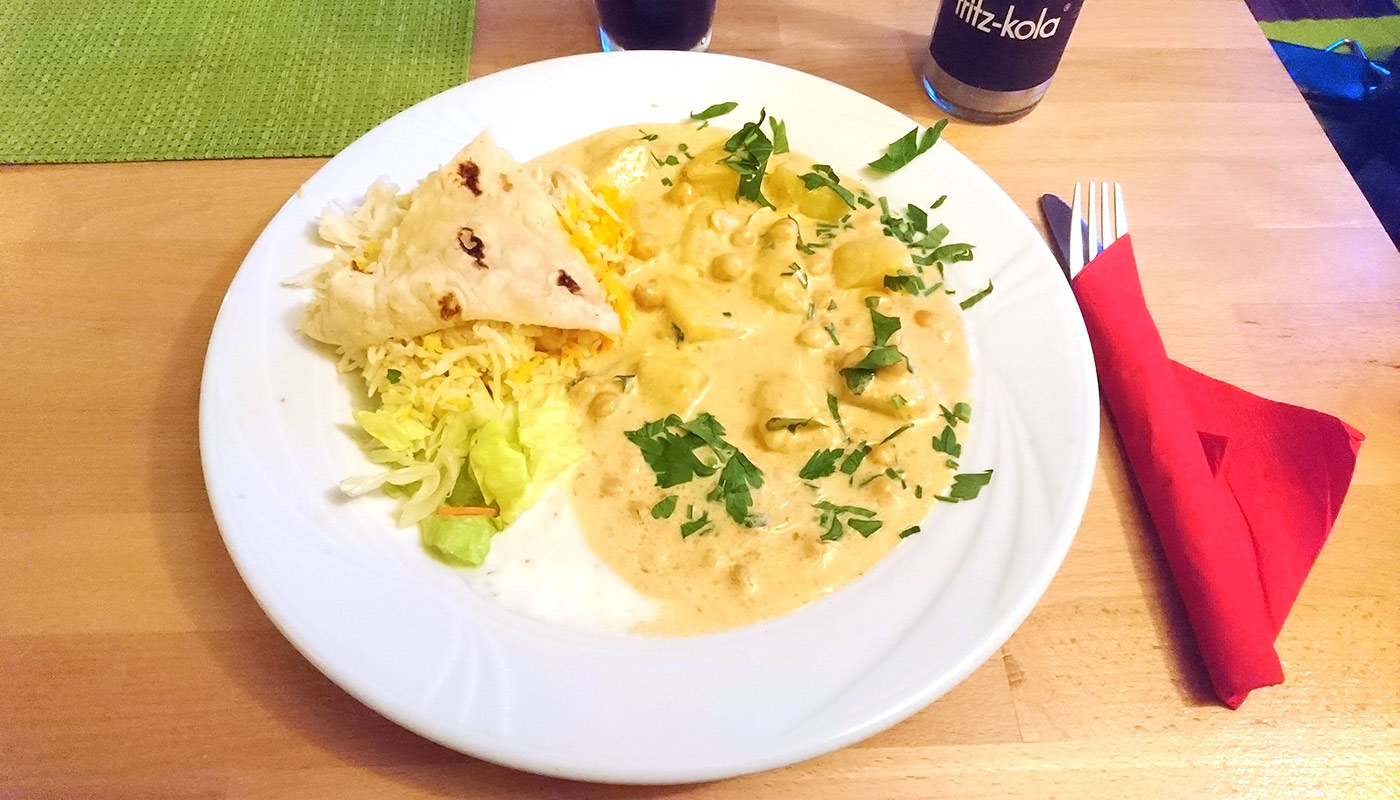 Café Lom in Schwerin – Arabische Bratkartoffeln