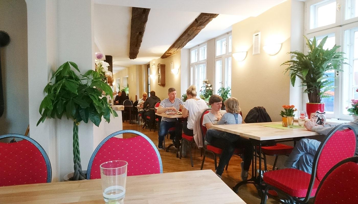 Alte Münze Schwerin – Café Lom (Gastraum)