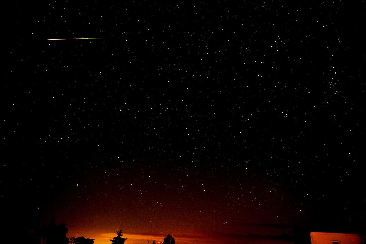 Sternschnuppe der Perseiden – August 2017 (28-d)