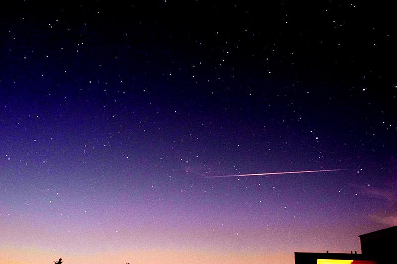 Sternschnuppe der Perseiden – August 2017 (c)