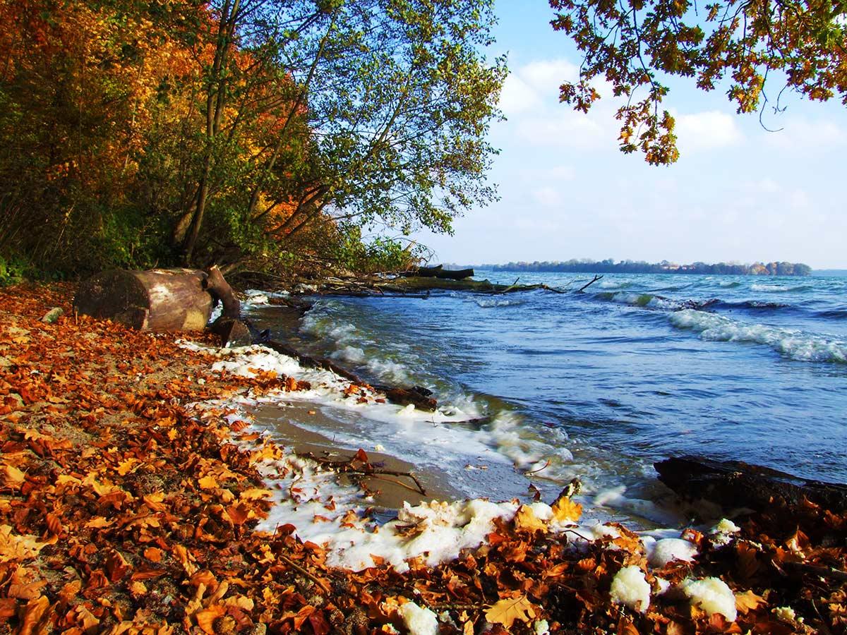 Herbstanfang – Herbst am See
