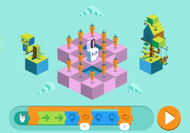 Programmiersprachen für Kinder (Google Doodle)