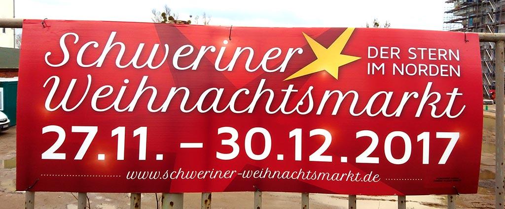 Schweriner Weihnachtsmarkt 2017 (Werbung)