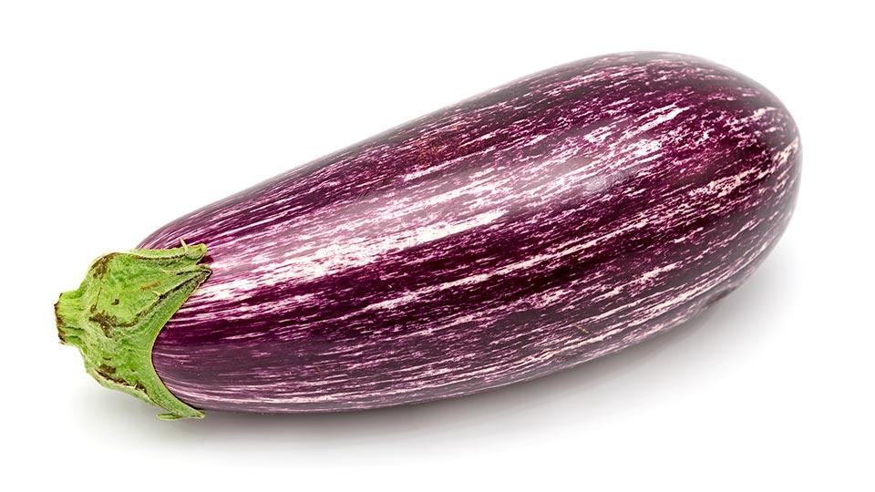 Aubergine (lila marmoriert)