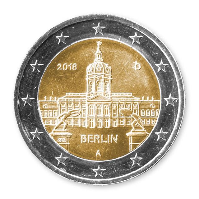 2 Euro Berlin – Schloss Charlottenburg (A)